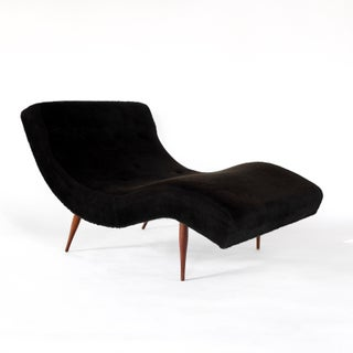 Adrian Pearsall for Craft Associates Mid-Century Modern Wave Chaise Lounge Chair Preview