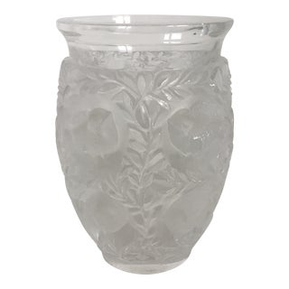 Lalique Bagatelle Vase For Sale