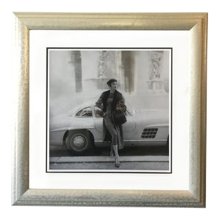Model and Mercedes Photograph by Henry Clarke For Sale