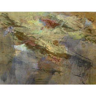 Mixed Media Abstract Painting by Patricia Zippin For Sale
