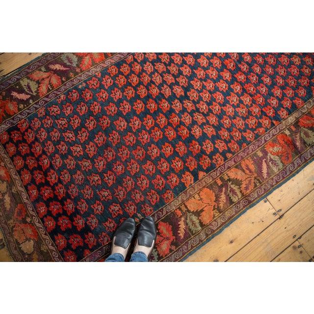 "Farmhouse Antique Karabagh Carpet - 4'9"" x 9'4"" For Sale - Image 3 of 13"