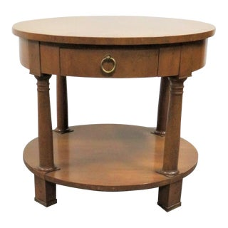 Baker Classical Cherry Side Table