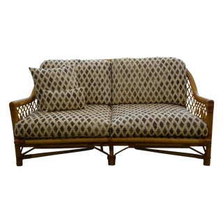 Bielecky Brothers Rattan Loveseat