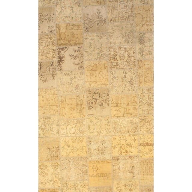Pasargad NY Turkish Patchwork Rug - 8′ × 9′ For Sale