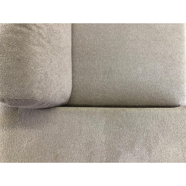 Ligne Roset Styled Sectional Modern Sofa With Chrome Base For Sale - Image 11 of 13
