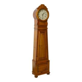 Ethan Allen Scandinavian Pine Tall Case Floor Clock