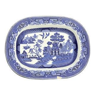 Buffalo Pottery Circa 1916 Antique Asian Platter