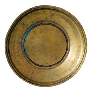 Antique Victorian Brass Pan or Bowl For Sale