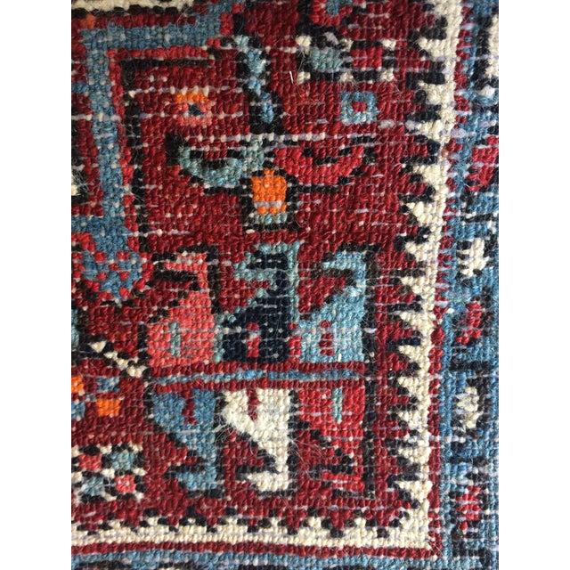 1930s-1940s Karaja Persian Mat For Sale - Image 11 of 13