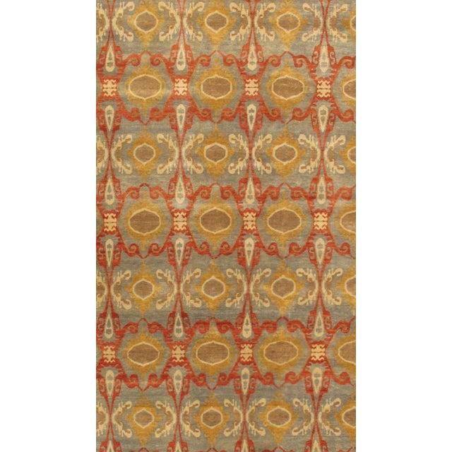 Pasargad Ikat Wool Rug - 10′ × 14′2″ - Image 2 of 2