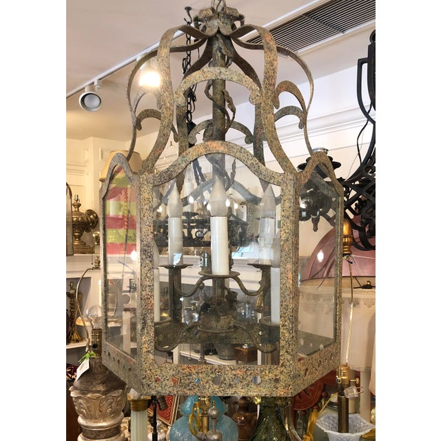 2000 - 2009 Charles Pollock William Switzer Lantern Chandelier For Sale - Image 5 of 5