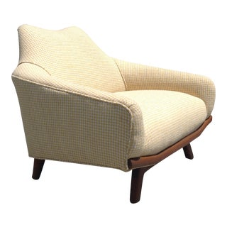 Sculptural Mid Century Lounge Chair For Sale