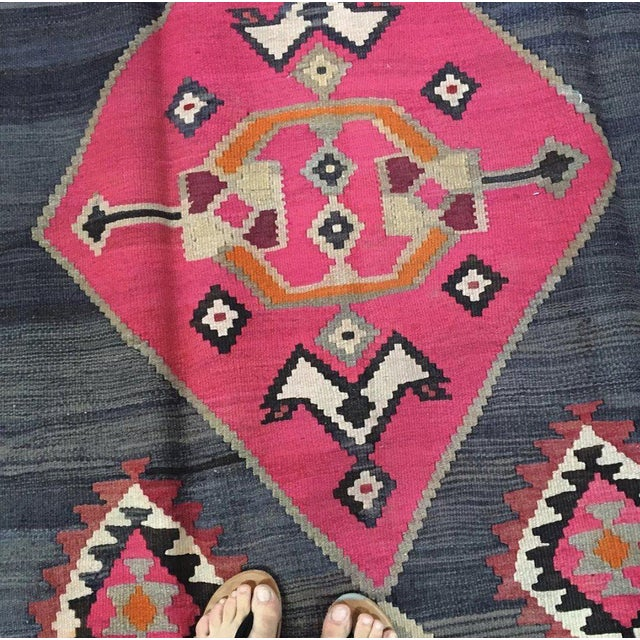 Kazak rugs are well known for their stunning geometric designs, inspired by the landscape of the Caucasus Mountain range...