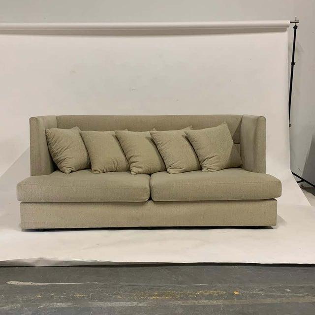 Milo Baughman Milo Baughman Shelter Sofa - Excellent For Sale - Image 4 of 11