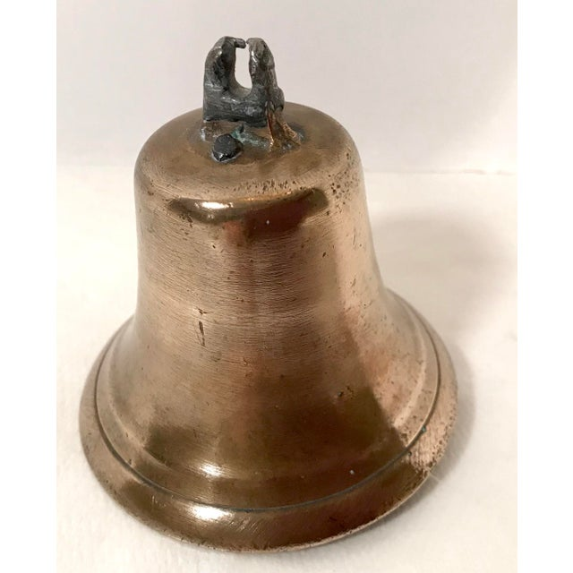 Mid 20th Century Mid 20th Century Vintage Brass Bell For Sale - Image 5 of 7