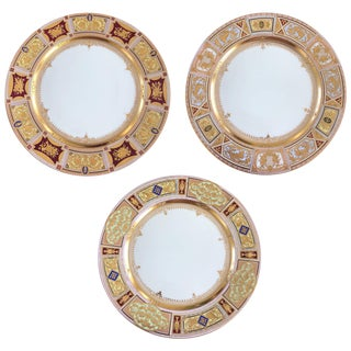 Dresden Plates - Set of 3 For Sale