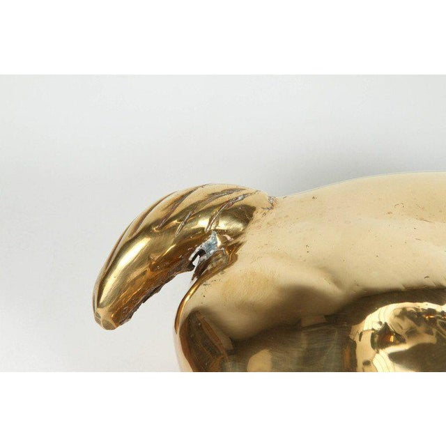 Large North African Brass Resting Antelope Sculpture For Sale In Los Angeles - Image 6 of 7
