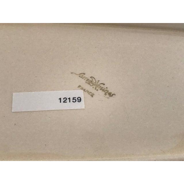 19th Century Porcelain Sarreguemines Fish Platter For Sale - Image 4 of 5