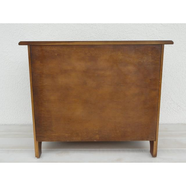 Traditional 20th Century Traditional Baker Furniture Mahogany Nightstand For Sale - Image 3 of 13