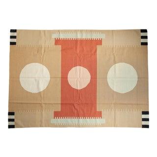 Vintage Contemporary Kilim Carpet For Sale