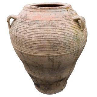 Antique Spanish Terracotta Oil Jar, Circa 1780 For Sale