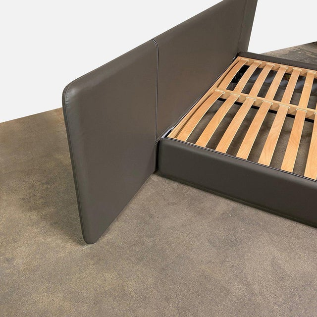 Modern Ivano Redaelli 'Suite A' Cal King Bedframe For Sale In Los Angeles - Image 6 of 9