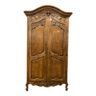 Late 20th Century Henredon French Media Armoire For Sale