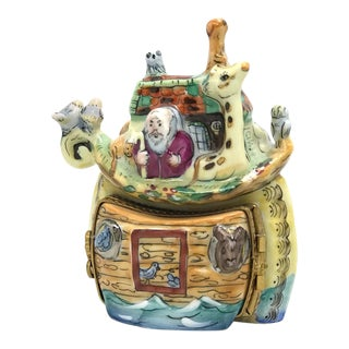 Noah's Ark Limoges Box For Sale