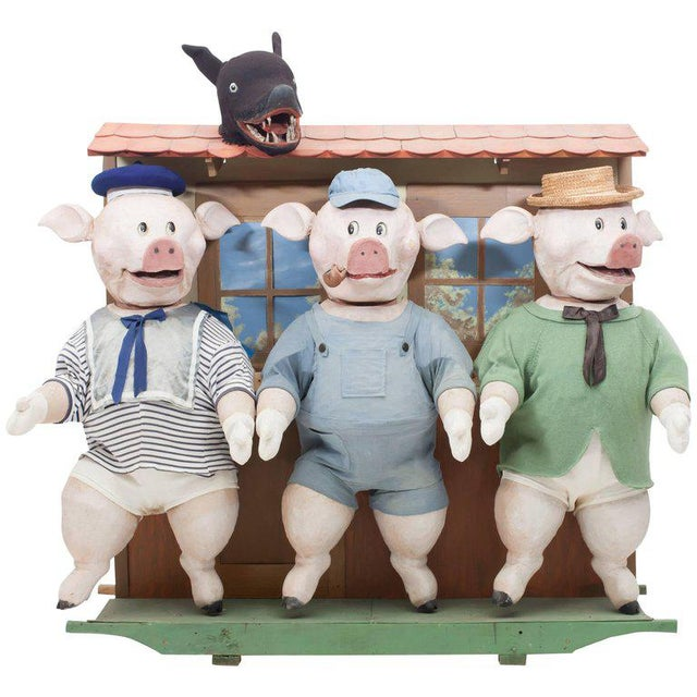 Three Little Pigs Puppetry For Sale - Image 9 of 9