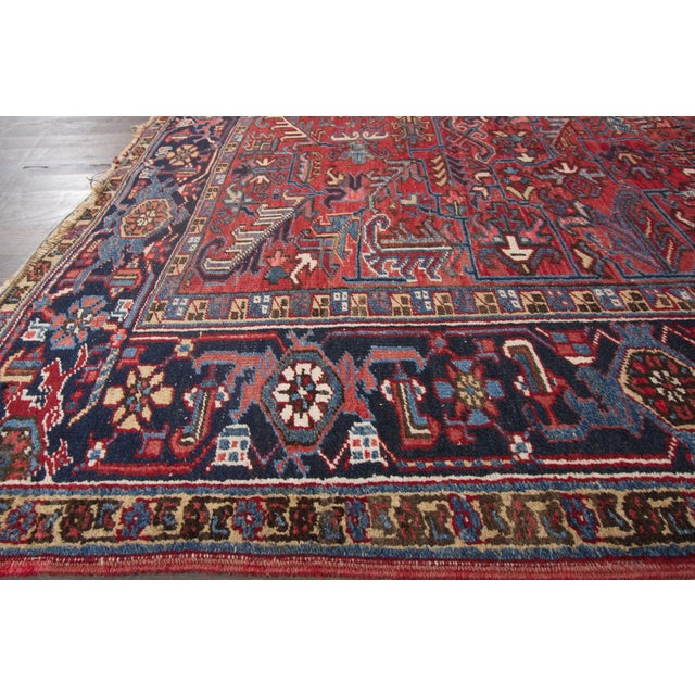 "Vintage Red Apadana Persian Rug - 8'2"" X 12' - Image 5 of 10"