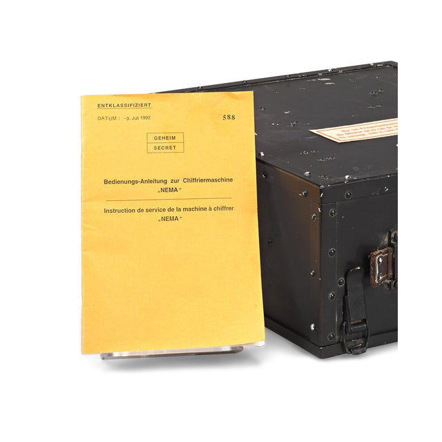 Mid 20th Century Swiss Nema Cipher Machine For Sale - Image 5 of 6