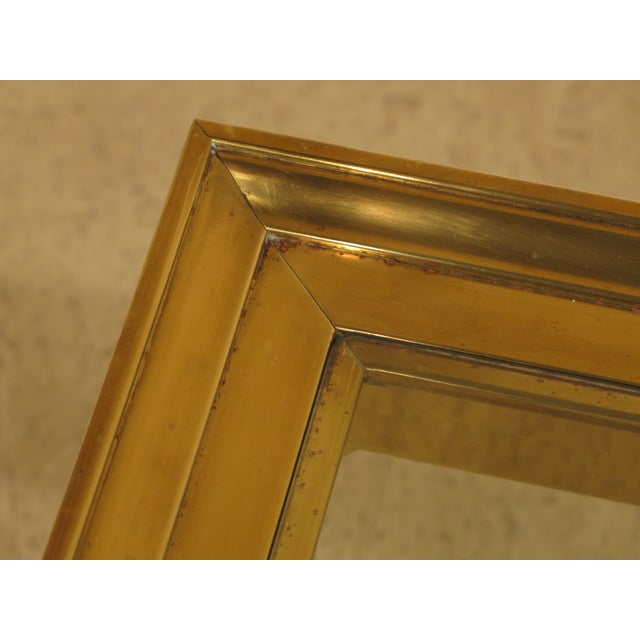 LaBarge Brass & Glass Coffee or Cocktail Table For Sale - Image 5 of 13