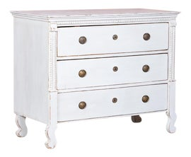Image of Antique White Chests of Drawers