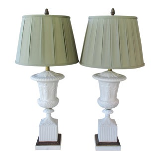 Paul Hanson Lamps - a Pair For Sale