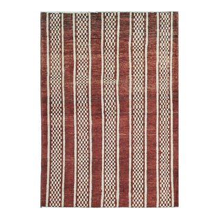 Contemporary Hand Woven Rug - 3'11 X 5'8 For Sale
