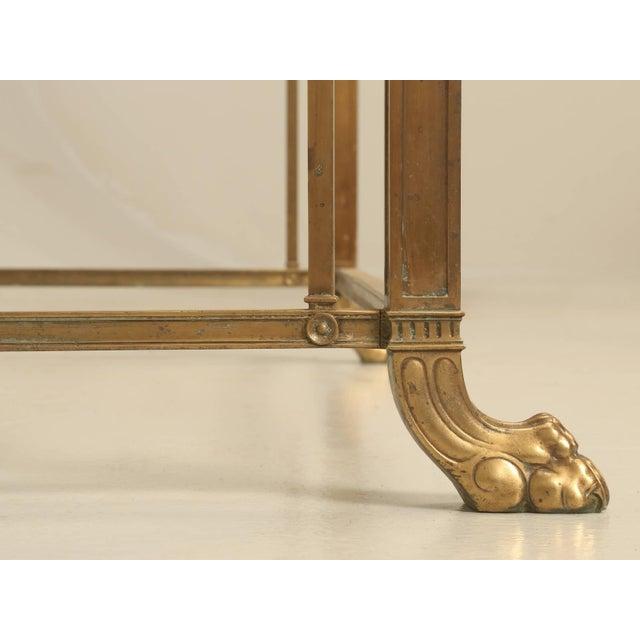 Vintage Bronze Table or Kitchen Island Base For Sale - Image 9 of 11