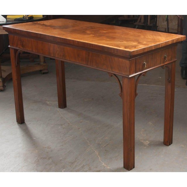 Dutch 18th Century Mahogany and Walnut Server For Sale - Image 4 of 13