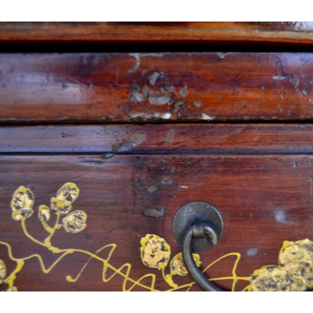 Exquisite Antique Chinese Qing Dynasty Cabinet For Sale - Image 9 of 12