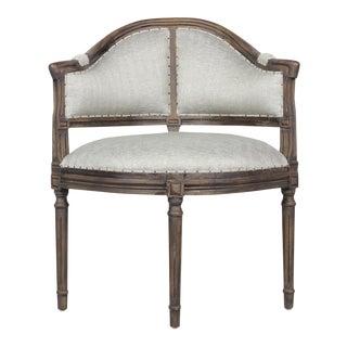 Mid-Century Modern Oak Frame Chair