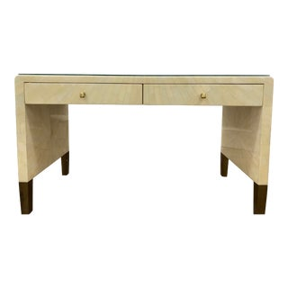Madegoods Ivory Faux Horn Desk For Sale