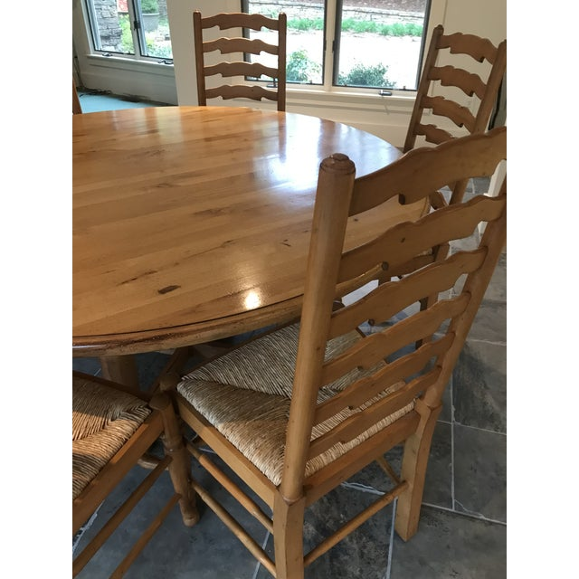 Andre Originals Andre Originals Solid Wood Kitchen Dining Set - 7 Pieces For Sale - Image 4 of 8