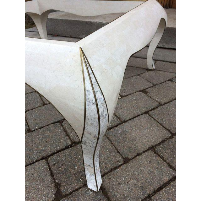 Maitland Smith Tessellated Stone Coffee Table - Image 5 of 7