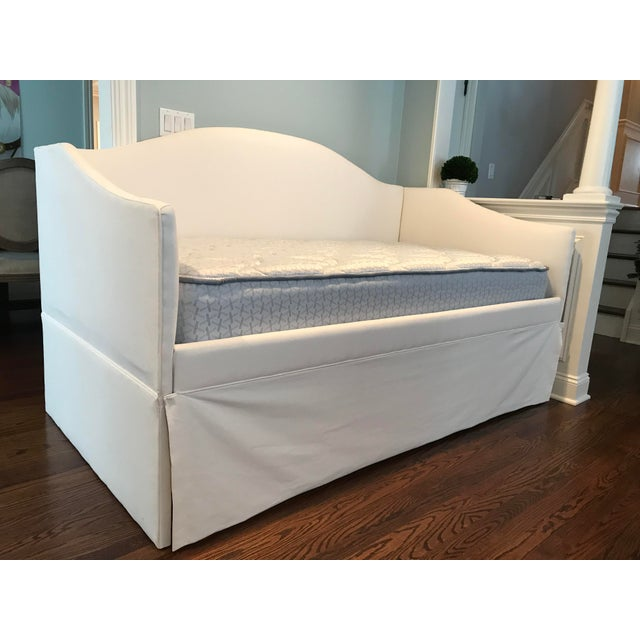 Canvas Ballard Designs Daybed Frame / Sofa For Sale - Image 7 of 8