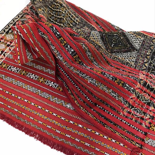Moroccan Handmade Kilim Rug - 7′6″ × 11′6″ - Image 7 of 11