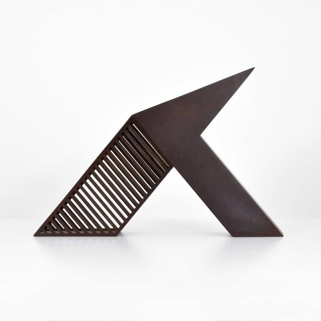 Modern Minimalist Desk Sculpture by John Raimondi For Sale - Image 4 of 8
