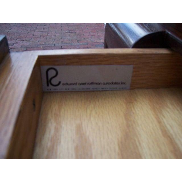 Edward Axel Roffman Edward Axel Executive Oversized Desk For Sale - Image 4 of 5