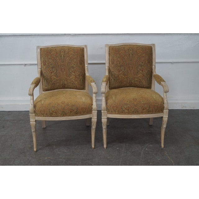 Regency Style Paisley Armchairs - A Pair - Image 6 of 10