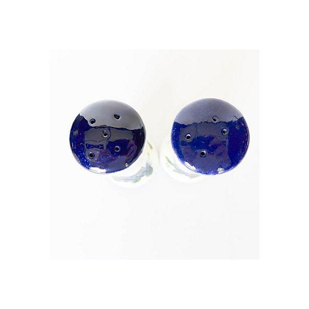 Maine Potters Blueberry Salt & Pepper Shakers - A Pair - Image 4 of 6