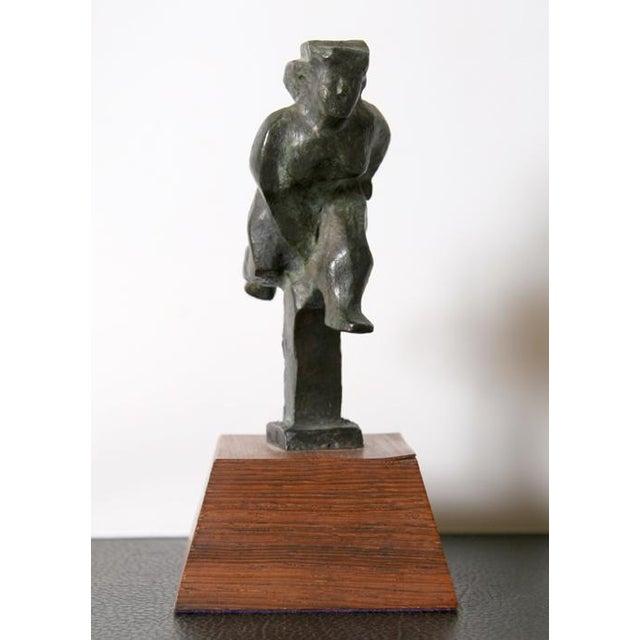 Artist: Chaim Gross Title: Runner Year: 1943 Medium: Bronze Sculpture, signature and number inscribed Edition: 31/50 Size:...