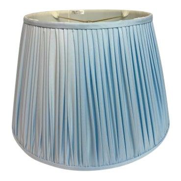 Heath and Company Original Powder Blue Lampshade For Sale